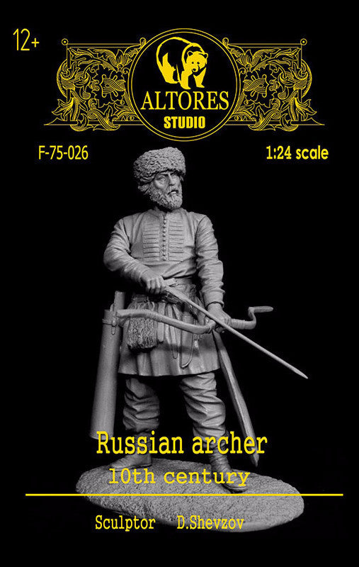 Russian Archer, 10th Century