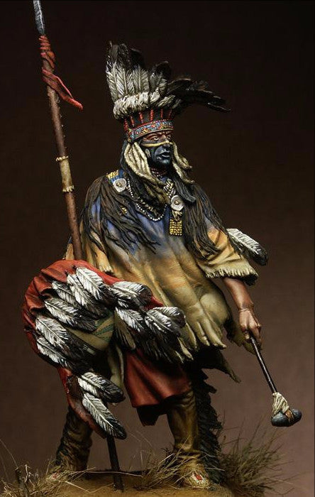 Winds of War, North Cheyenne Warrior