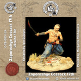 Zaporozhye Cossack, Ukraine 17th century