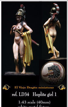 Hoplite Girl 1 - El Viejo Dragon