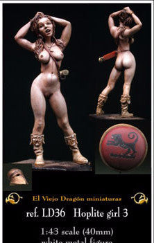 Hoplite Girl 3 - El Viejo Dragon