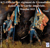 Officer, Porte-Aigle des Grenadiers de la Garde, Waterloo 1815