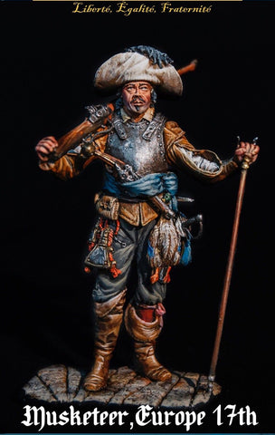 Musketeer, 17th Cent - 54mm