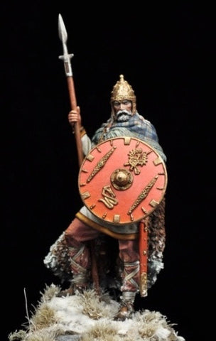 Frankish Warrior, V-VI century