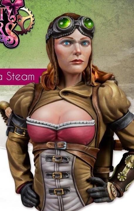 Amelia Steam - Bust