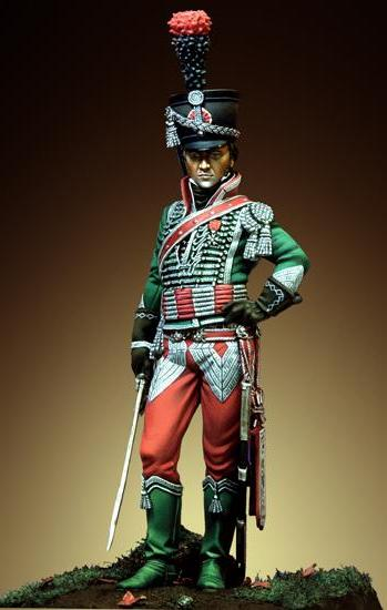 Light Cavalryman of the 12th Regt., France 1806