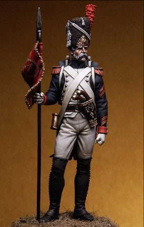 Grenadier of the Guard, Sergeant Second Eagle Bearer, 1810