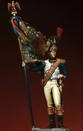 Standard bearer of the Grenadier Guards, 1814