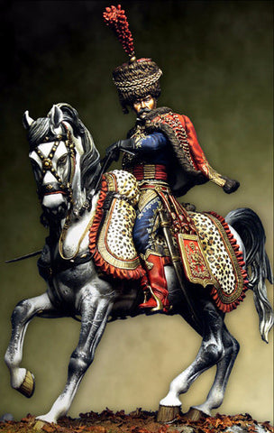 Captain of Hussars, Elite Corps 1806-12