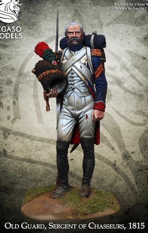 Old Guard – Sergeant of Chasseurs, 1815