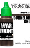Dunkelbraun Brown
