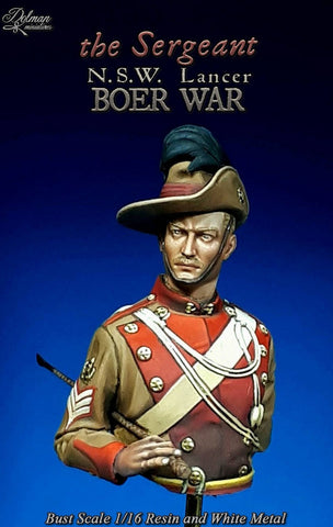 """The Sergeant"" NSW Lancer, Boer War 1:16"