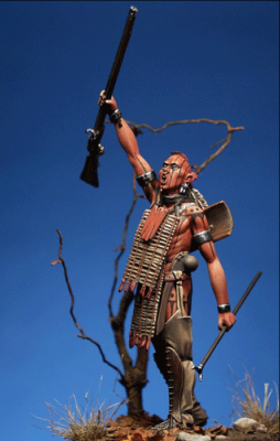 Huron Warrior, 17th century
