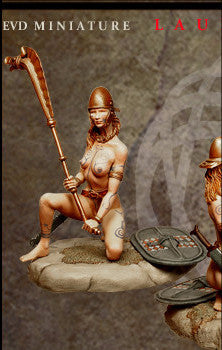 Celtic Warrior III (Kneeling)