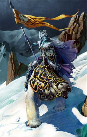 Veluthil Ice Elf Standardbearer