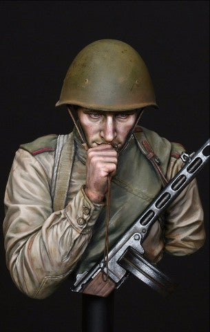"""On the Edge of No Man's Land"", WW2 Red Army Infantryman, Battle of Kursk, July 1943"