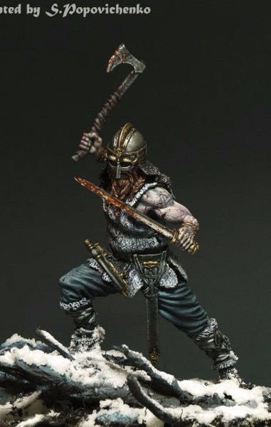 Viking Berserker, with Helmet
