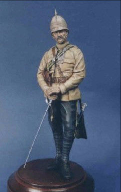Officer 10th Hussars 1884 The Sudan