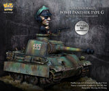 SD Panther Type G (with Panzer Commander)