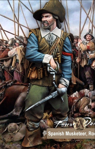 Spanish Musketeer, Rocroi 1643