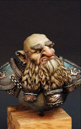 Dwarf Destroyer bust
