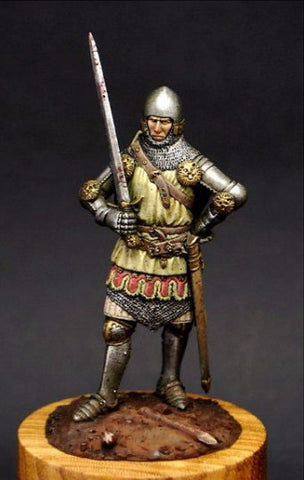 English Knight, Battle of Crecy, 14th Cent.