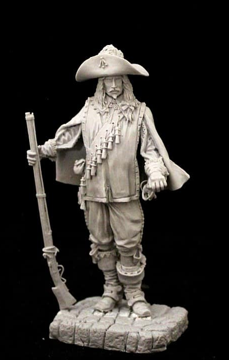 Musketeer, France 17th cent