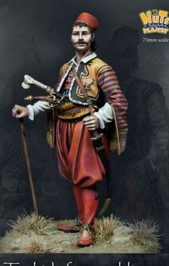 Turkish Foot Soldier in the Ottoman Army