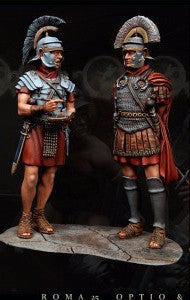 Optio and Centurion, I AD