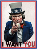"I Want You! ""Uncle Sam"""