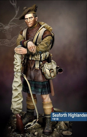 Seaforth Highlander, 1918