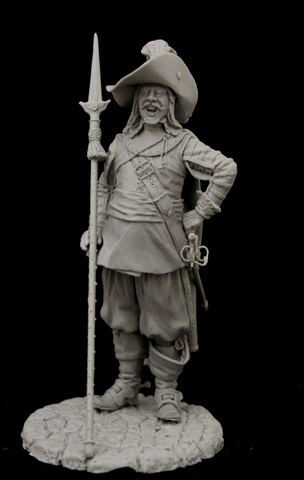 Infantry Officer, Europe 17th cent