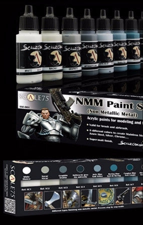 NMM Paint Set - STEEL