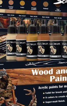 Wood & Leather Paint Set