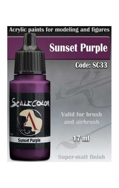 Sunset Purple