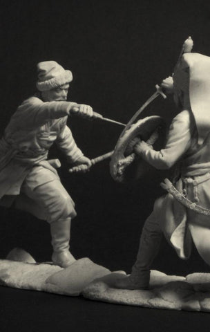Don Cossack vs Janissary, Middle 17th Century