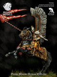 Polish Winged Hussar XVII cent