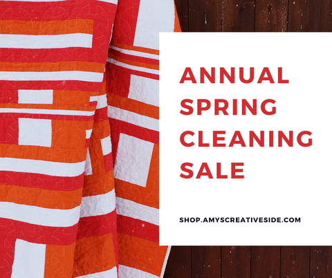 Annual Spring Cleaning Sale!