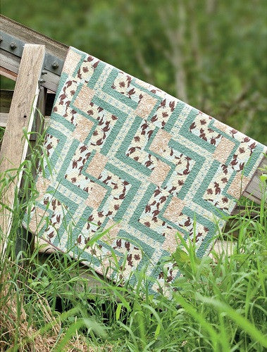 Modern Twist {Handmade Quilt by Amy Ellis}
