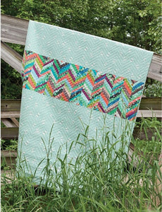 Improvised Herringbone {Handmade Quilt by Amy Ellis}
