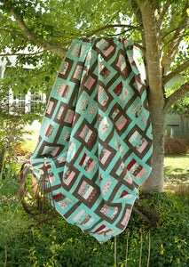 Modern Mirrors {Handmade Quilt by Amy Ellis}