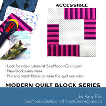 Accessible Quilt Block Pattern
