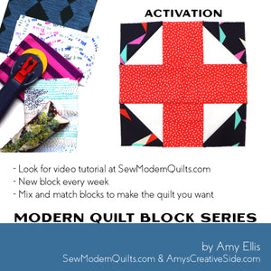 Activation Quilt Block Pattern