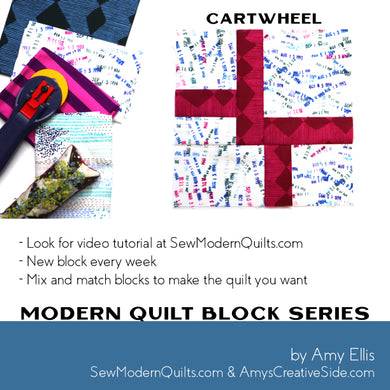 Cartwheel Quilt Block Pattern