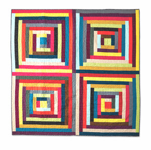 Chromatic Cabins PDF Quilt Pattern