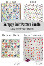 Scrappy Quilt Pattern Bundle - PDF Downloads