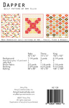 Dapper Quilt Pattern