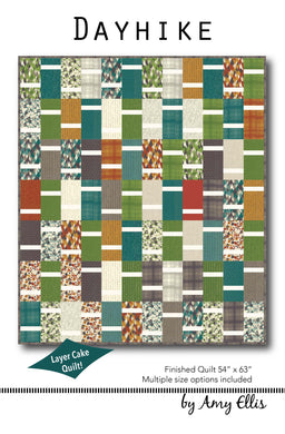 Dayhike Quilt Pattern by Amy Ellis - AmysCreativeSide.com