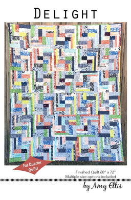 Delight Quilt Pattern -- Wholesale