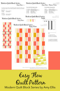 Easy Flow PDF Quilt Pattern